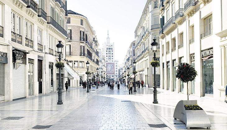 Calle Larios Die Fifth Avenue Von Málaga