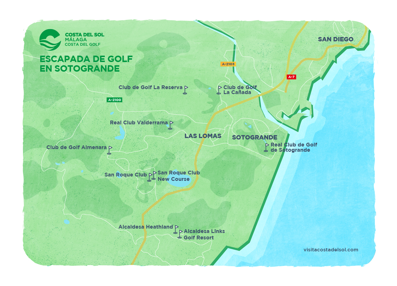 Escapada de golf en Sotogrande