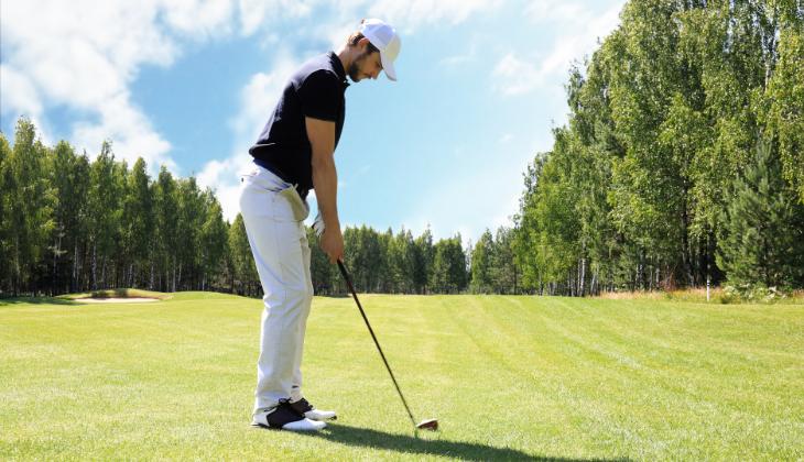 Salto de rana golf