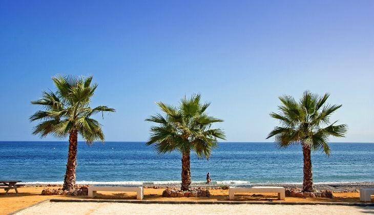 playas bandera azul para visitar Torrox, Málaga