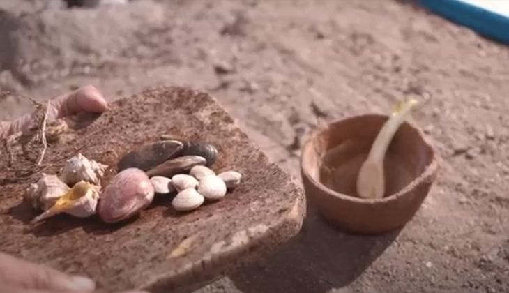 Comer en Nerja sopa prehistórica