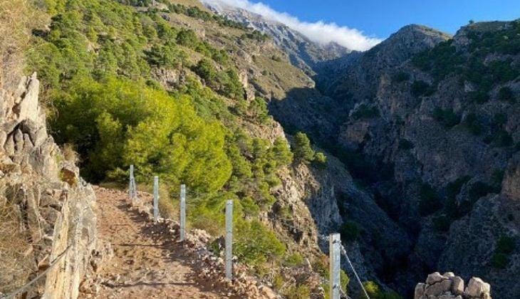 Randonnée El Saltillo, province de Malaga