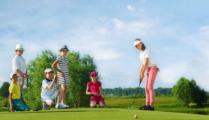libro de golf para niños