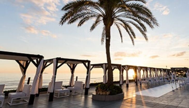 new trends in beachfront events at La Cabane beach club