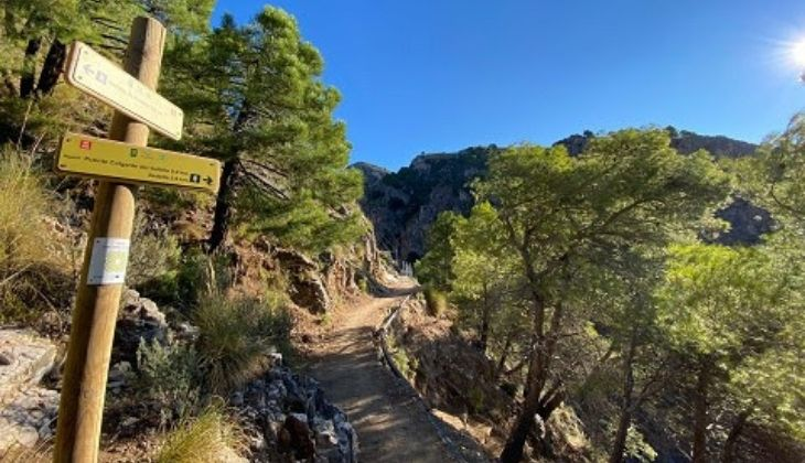 Itinéraire El Saltillo Málaga
