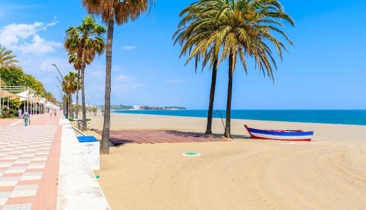 banderas azules playas de Estepona