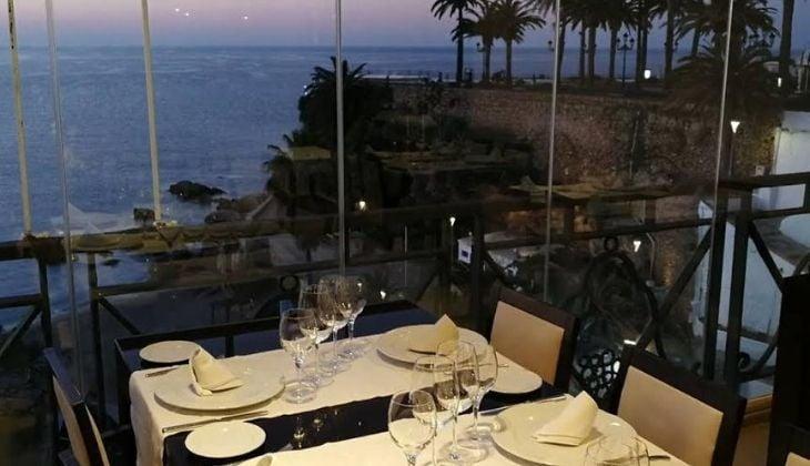 Restaurantes vista la mar Marisqueria Puerta del Mar, Costa del Sol