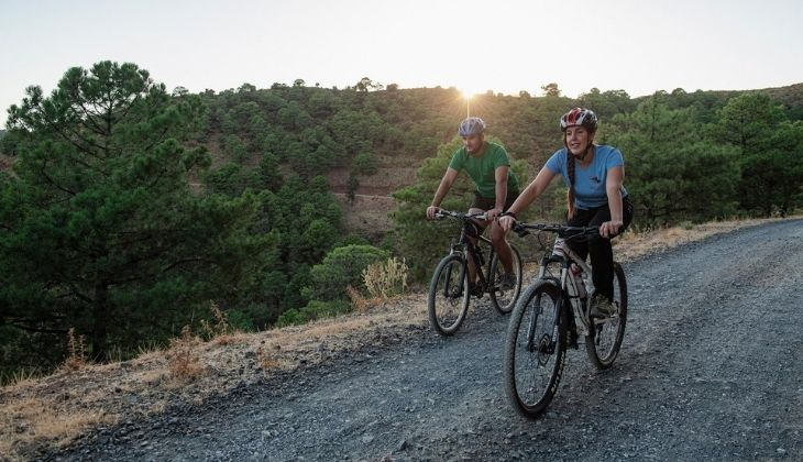 Vuelta cicloturista en Málaga
