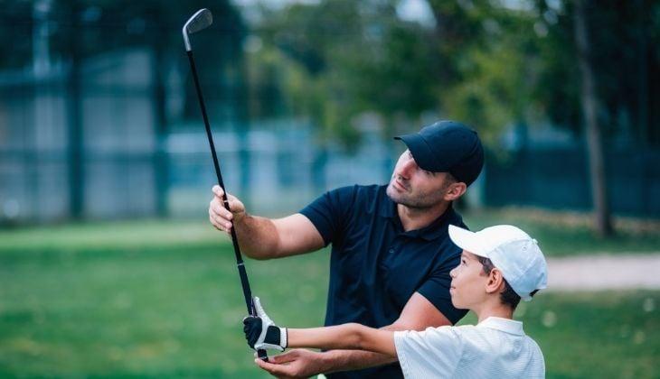 kids golf club bag