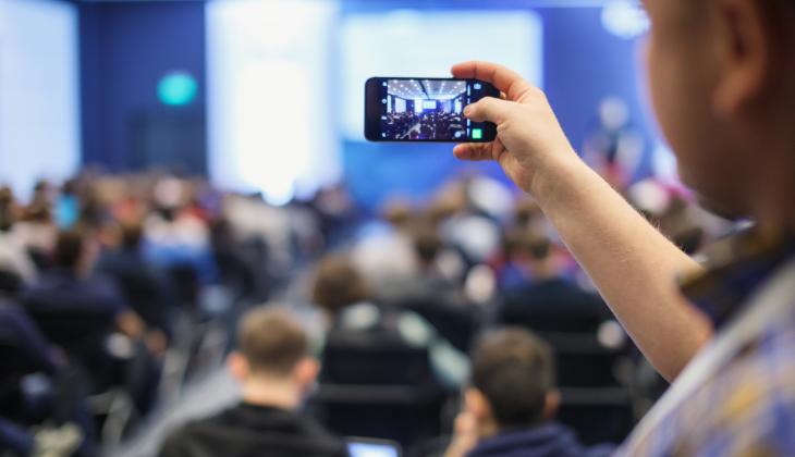 redes sociales gestión de eventos