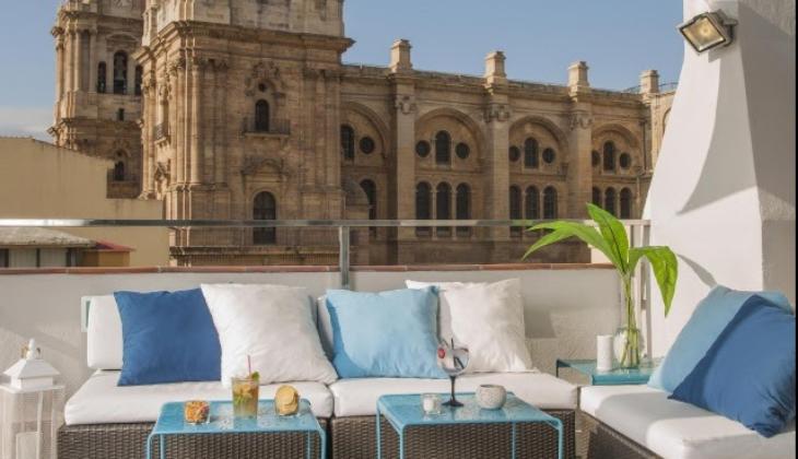Dachterrassen mit Aussicht in Malaga