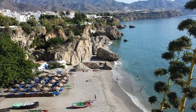 mejores playas malaga