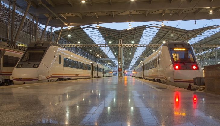 Estación tren Málaga Maria Zambrano