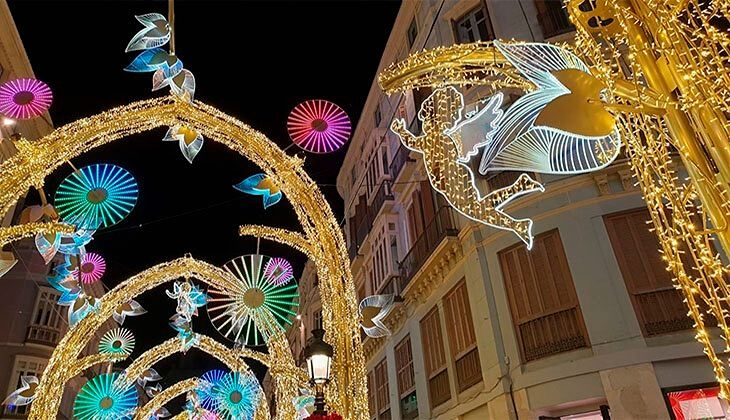 Planes románticos en Málaga Navidad