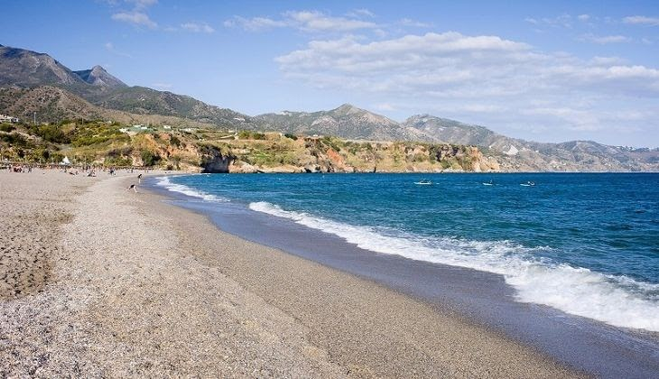 the best beaches of the Costa del Sol with children Burriana