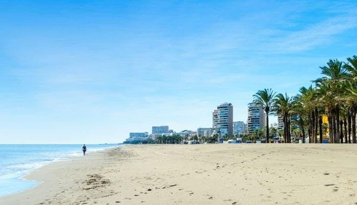 Costa del Sol with children quiet beaches Playamar