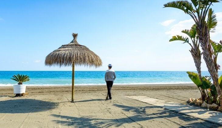 Costa del Sol with children quiet beaches Torre del Mar