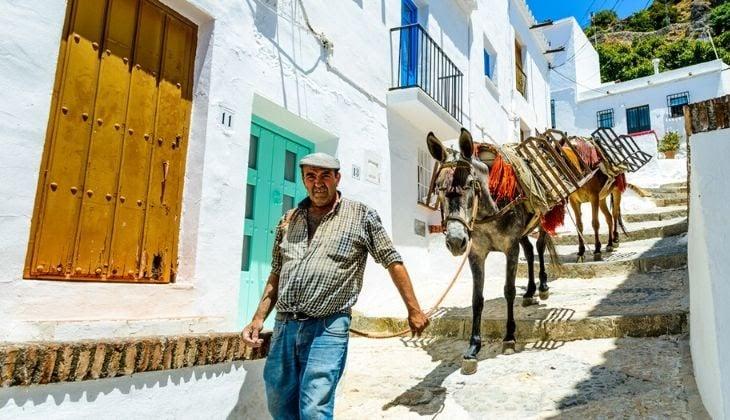 viajes organizados desde Málaga Frigiliana