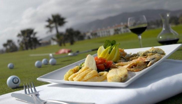 Campo de golf parador de Málaga