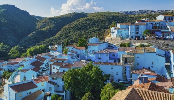 Júzcar, escapada rural romántica en Málaga