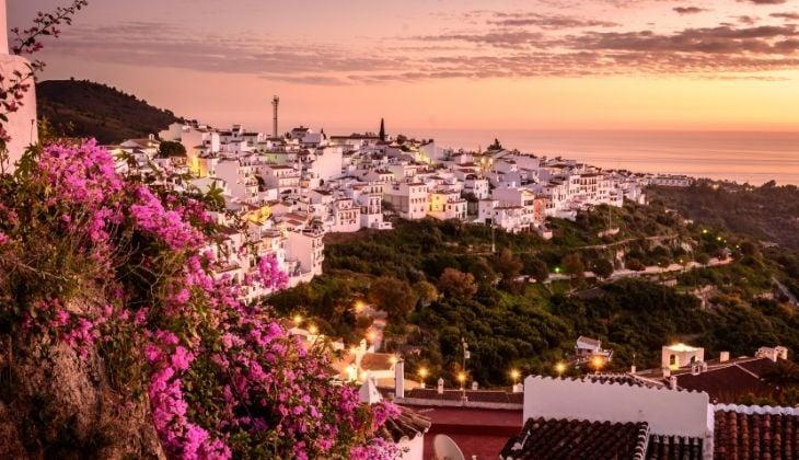 :Frigiliana, escapada rural romántica en Málaga