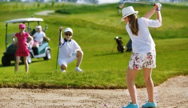 Golf infantil en la Costa del Sol