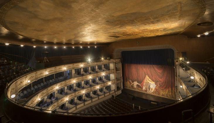Gebäude Cervantes Theater