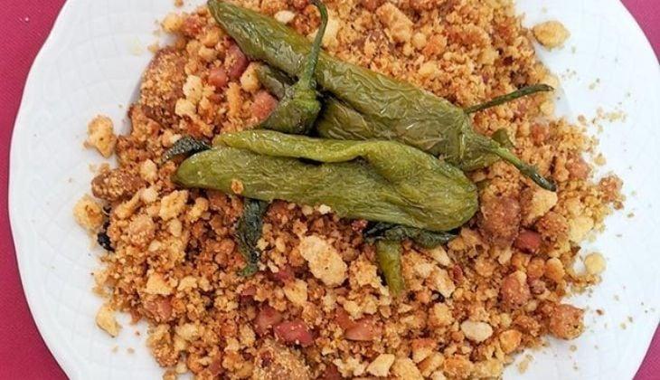 Migas cortijeras, recettes de la gastronomie de Malaga