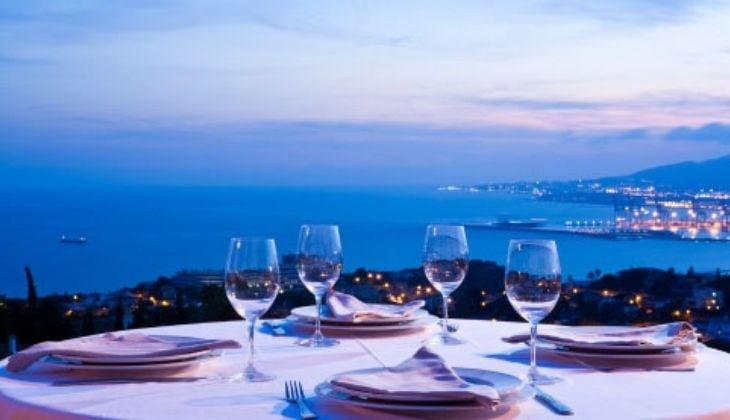 马拉加首府浪漫晚餐