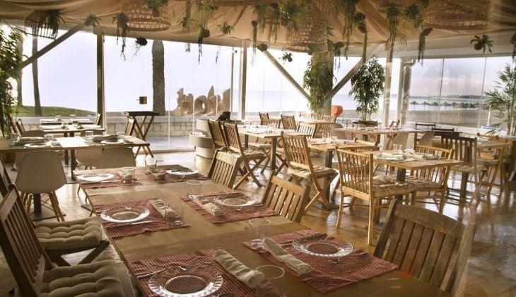 马拉加市中心浪漫晚餐