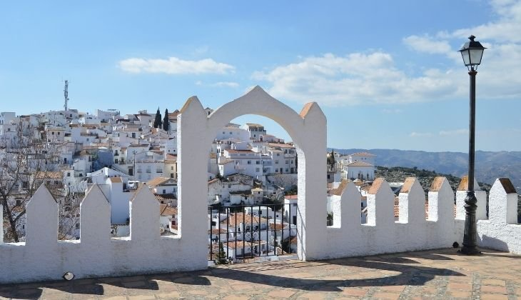 Comares, landscapes Malaga