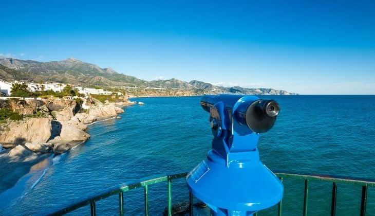 Best views in Málaga province