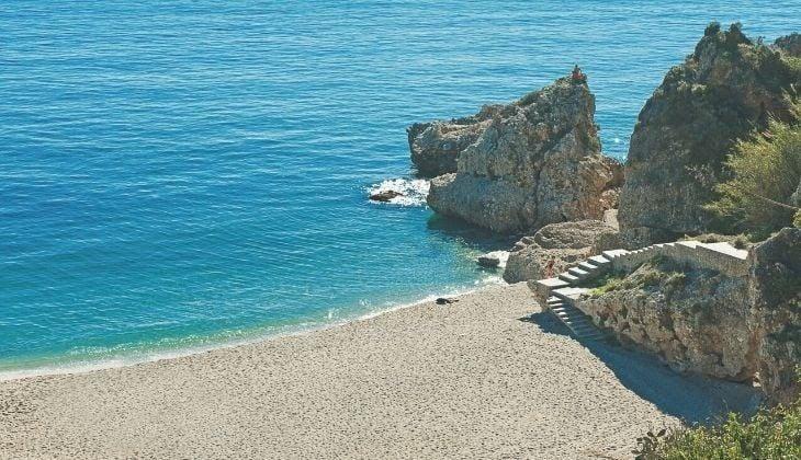 blue flag beach Costa del Sol