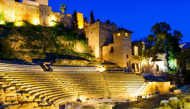Théâtre romain Malaga