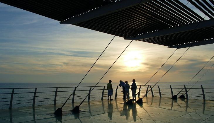 Sonnenuntergang Costa del Sol