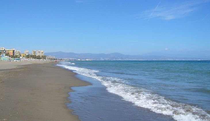 playa El Bajondillo Torremolinos