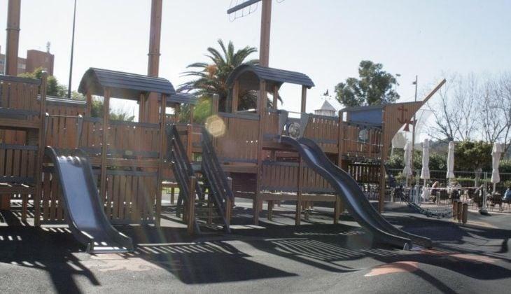 Actividades con niños en el Parque de Poniente, Fuengirola