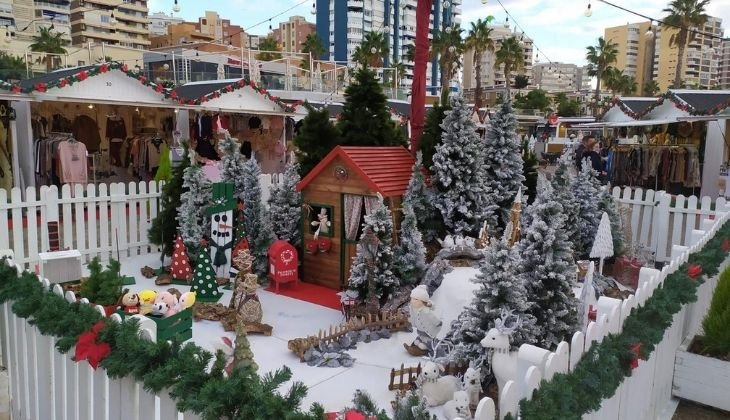 Marché de Noël Muelle Uno, activités de Noël
