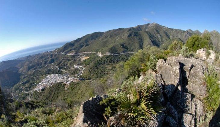 El Pozuelo, hiking route Sierra de las Nieves