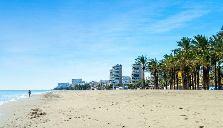 playa Playamar Torremolinos