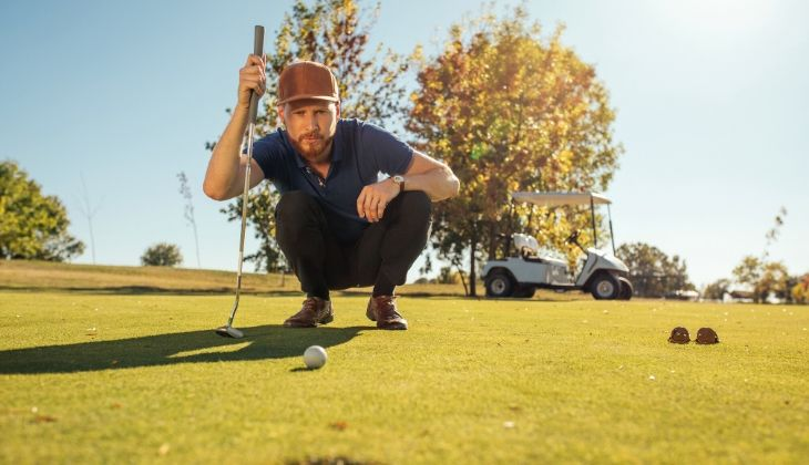 How to play with the putter in golf