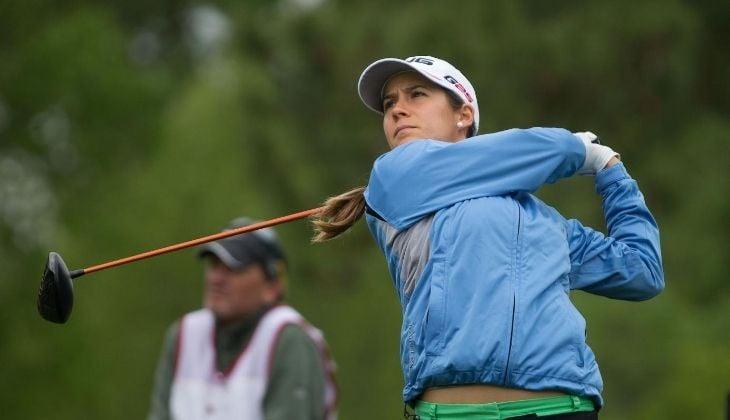 Azahara Muñoz, joueuse de golf féminin, Espagne