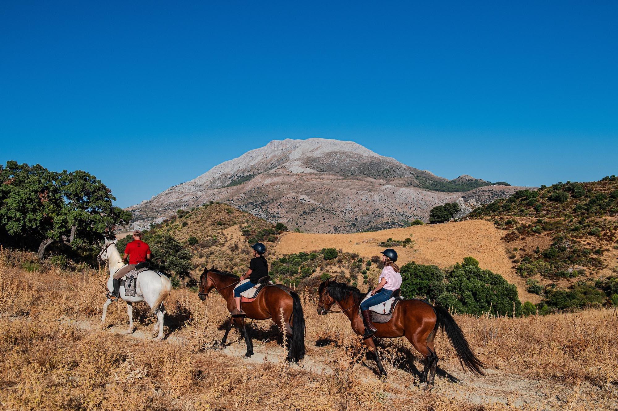 La Fuensanta, hiking route Sierra de las Nieves, Malaga