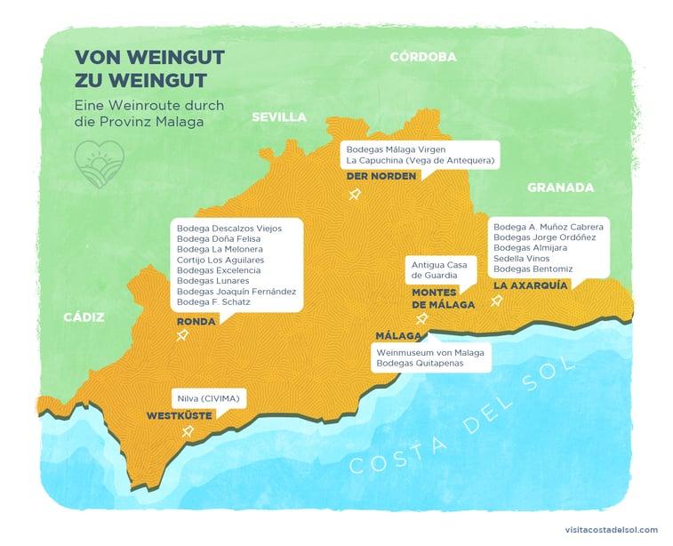 Malaga Weins Tour durch die exklusivsten Weinkeller