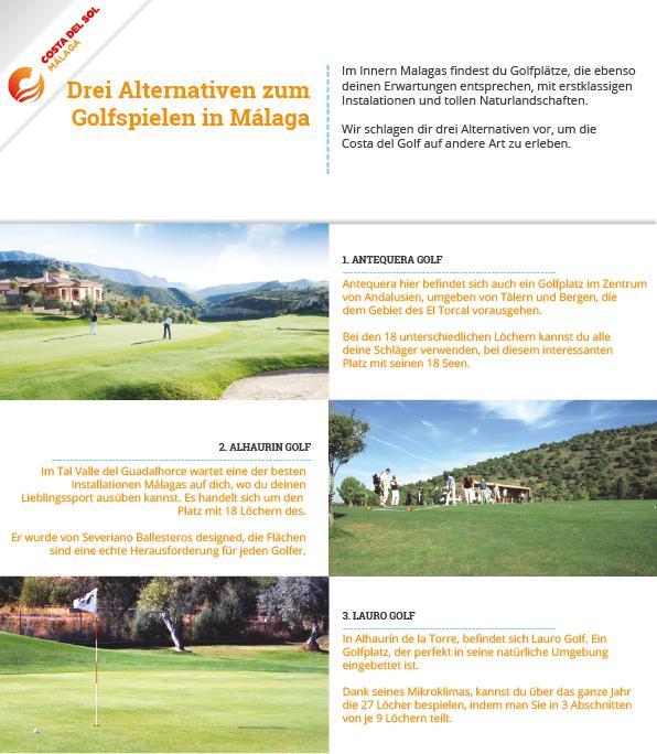 Alternativen zum Golfspielen in Malaga