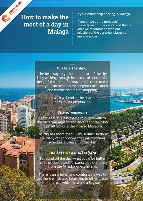 Places to see in one day in Malaga