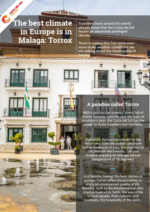 The best climate in Europe: Torrox