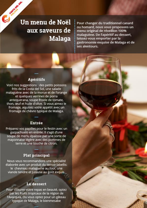 Menu De Noel A Emporter.Un Menu De Noel Aux Saveurs De Malaga