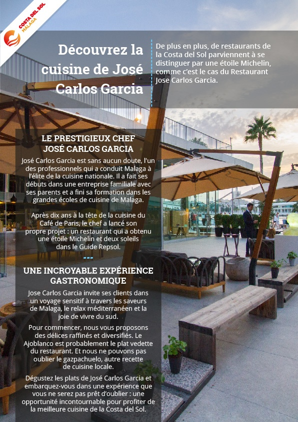 Découvrez la cuisine de José Carlos Garcia