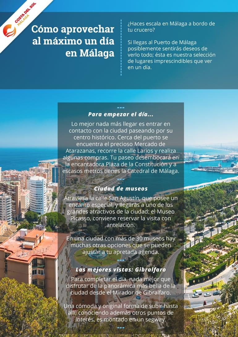 Qué hacer durante un día en Málaga